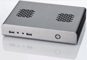China Intel Atom Mini Pc Thin Client With 2 Com Port Wifi RAM 2G HDD 500g on sale