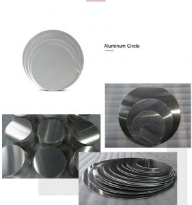 China Non - Stick Aluminium Discs Circles Gas Welding High Plasticity For Cooking Pan on sale