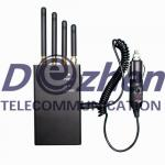 4 Band 2W Portable Mobile Phone Jammer for 4G LTE 2600