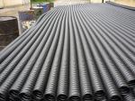reasonable price low good quality round flat prestressed bridge concrete hdpe/pe pipe production line extrusion machine