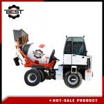BST -1500 Cement Mixing Truck / Self Loading Mixer Truck With One Year Warranty