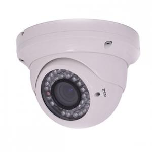China Varifocal 720p HD Real Time Vandal Proof Dome Camera 480tvl With IR-cut Filter on sale