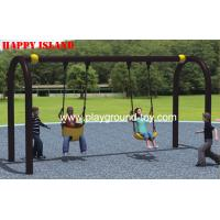U Flexible Flyer Swing Set Kids Swing Sets Galvanized Steel Outdoor Children