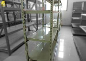 China Iron Light Duty Metal Shelving , Boltless Assembly Warehouse Shelving Units on sale