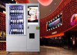 Wine Glass Bottle Vending Machine With Elevator System , Juice Beer Vending Kiosk