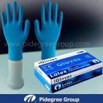 Durable Long High Risk Gloves , Medical Procedures Powder-Free Gloves