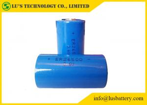 China ER26500 C Size Lithium Thionyl Chloride Battery Blue Color 9000mAh Capacity on sale