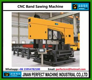 China CNC H Beam Band Sawing Machine Structural Steel Machines Supplier in China (DJ1250) on sale