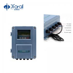China Wall Mounting Type Digital Ultrasonic Flow Meter 4-20mA 64m/S Max Speed on sale