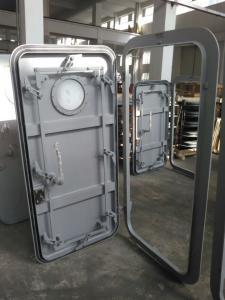 China 1000×500--1800×900mm Marine Weathertight Single - leaf Steel Doors on sale