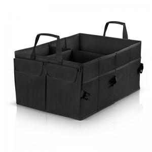 China Durable Non Slip Trunk Organizer , Foldable Vehicle Trunk Storage Box on sale