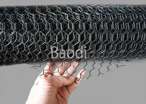 China PVC Spraying Chicken Netting Hexagonal Woven Mesh Corrosion Resistance on sale