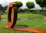 Commercial Outdoor Metal Art Sculpture Luxury Stainless Steel For Decoration