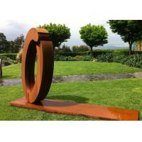 China Commercial Outdoor Metal Art Sculpture Luxury Stainless Steel For Decoration on sale