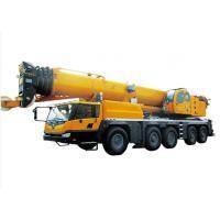 Retractable Boom hydraulic crane truck , 130 Ton large mobile crane