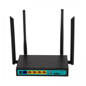 China FDD TDD 4G LTE Wifi Router With SIM Card Slot 128MB RAM 16MB Flash on sale