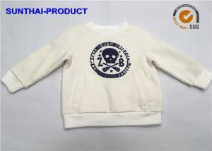China Screen Print Baby Boy Fleece Jacket , 100% Cotton Toddler Boy Fleece Jacket on sale