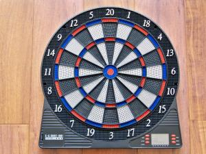 China Entertainment Electronic Dart Board Game With LCD Displayer on sale