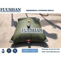 Fuushan 1000L-500000L PVC Pillow Collapsible Bladder Water Tank Flexible Inflatable PVC Pillow Water Storage Tanks