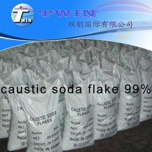 Quality manufacturer of caustic soda flake 99% CAS NO.: 1310-73-2 for sale