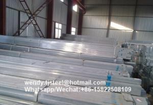 China bs1387 electrical wire conduit hot dip galvanized steel pipe 2016 on sale