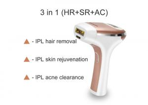 China IPL 5 Energy Levels 300000 Shots Laser Hair Removal System on sale