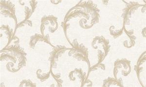 China Peelable Metallic Embossed Wallpaper Water Resistant For Lounge Room on sale