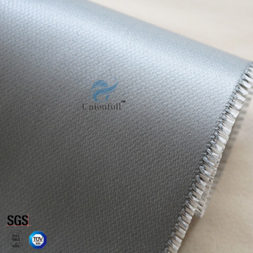 Fireproof 590g 0 5mm Silicone Coated Fiberglass Fabric for fire