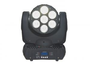 China 7 X 10 Watt OSRAM 15 Channel Led Moving Head Wash Light For Dj Lighting on sale
