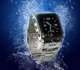 China Stainless Steel Waterproof Wrist watch cell phone W818  on sale