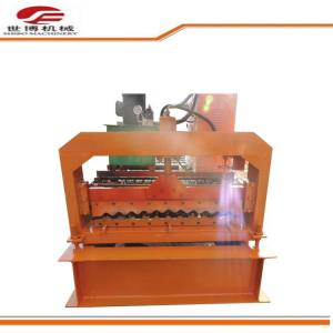 China Automatic Metal roof wall Corrugated color steel roll forming machine on sale