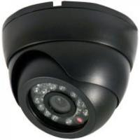 CCD 480TVL IR Vandal Proof Dome Camera With Infrared LED 22pcs , Plastic Housing