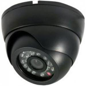 China CCD 480TVL IR Vandal Proof Dome Camera With Infrared LED 22pcs , Plastic Housing on sale