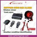 Hopping Code Auto Alarms Systems Weather Condition Identification Function CF886H