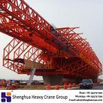 subway bridge erection 650t cast in situ overhead movable scaffolding system crane