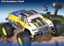 China 1/10 Electric Powered Brushless RC Truck on sale