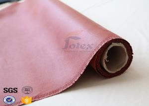 China Fireproof Insulation Fiberglass Fire Blanket Silica Cloth 50 Yards / Roll on sale