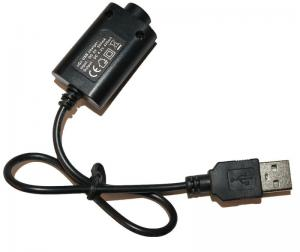 China Black USB Cable Charger Electronic Cigarette Accessories For Ego Battery on sale