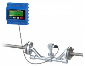 China Ip68 Ultrasonic Liquid Flow Meter Transit Time With Clamp On Transducer Dn50-700 on sale