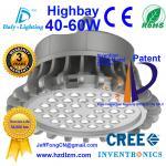 Luz 40-60W del LED Highbay con la mejor eficacia de enfriamiento hecha en China