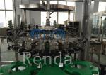 Carbonated Drink Filling Beverage Bottling Equipment With CO2 Glass Bottle PET Bottle