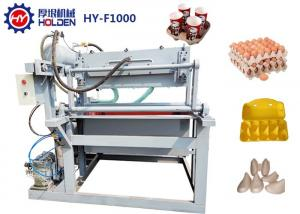 China Small Semi Automatic 1000 Pcs / Hr Egg Box Production Line on sale