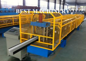 China K Type PPGI Gutter Roll Forming Machine For Take Roof Rainwater on sale