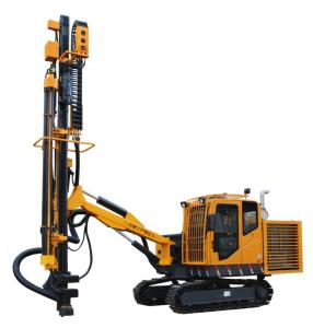 China High Speed Crawler Drilling Rig / Powerful Small Rock Drilling Equipment on sale