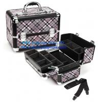 China Professional Makeup Case – Pink Checker on sale