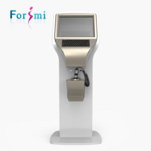 China Newest CD FDA approved potable 19 inch big screen uv light facial skin analysis machine for beauty center use on sale