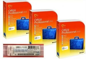 China Full version Microsoft Office 2010 Professional Retail Box office computer software on sale