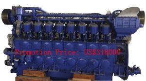 Quality 2938 KVA Marine Emergency Generator For Transportation Ships / Fishing Boats for sale