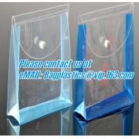 zippered vinyl portable pvc cosmetic, vinyl pack bags, pvc button bags, PVC promotion bag