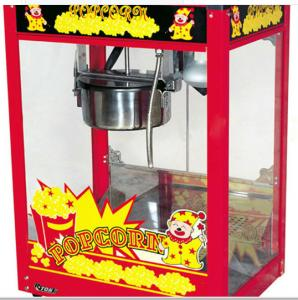 China Unique Small Gas Popcorn Maker Industrial 220V 50Hz With Switch Control on sale